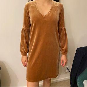 MADEWELL velvet dress